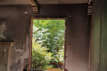 After fire view - 2