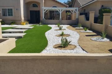 Front Yard Landscape Completion - 7