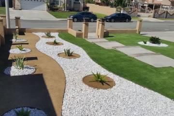 Front Yard Landscape Completion - 5