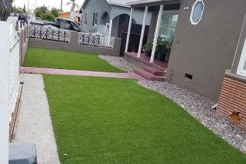 AFTER Front Yard Turf Installation - 3