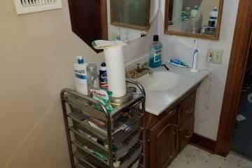 Original Bathroom Floor Plan  - 3