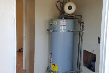 Original Placement of Water Heater