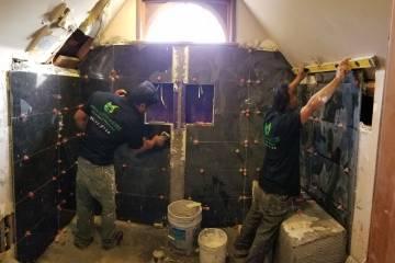 Tiling Shower - 2