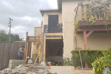 Room Addition Demolition - 1