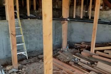 Room Addition - Retaining Wall - 2