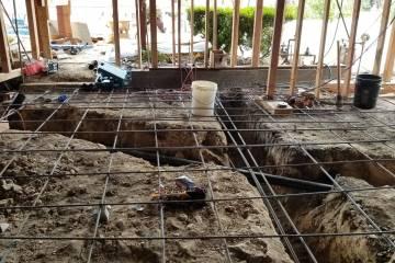 Room Addition - Plumbing & Rebar - 2