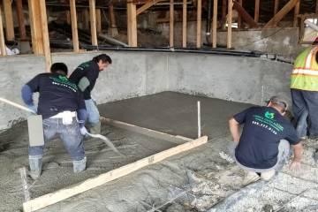 Room Addition - Concrete Slab - 3