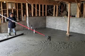 Room Addition - Concrete Slab - 4