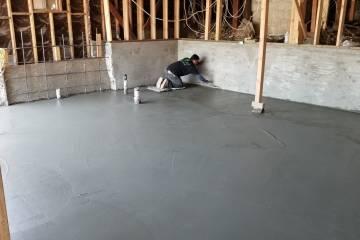 Room Addition - Concrete Slab - 8