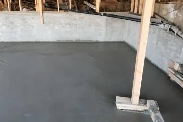 Room Addition - Concrete Slab - 7