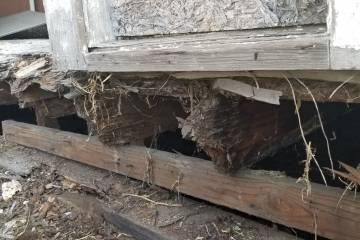 Old Foundation and Floor Joists  - 4