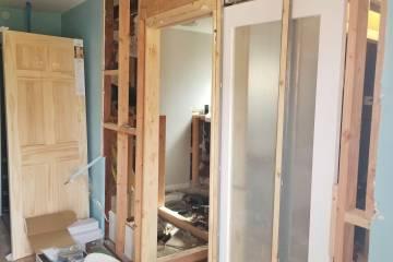 Bathroom Renovation Framing Process - 2