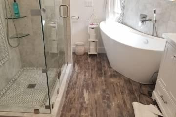 Master Bathroom Renovation Completion - 27