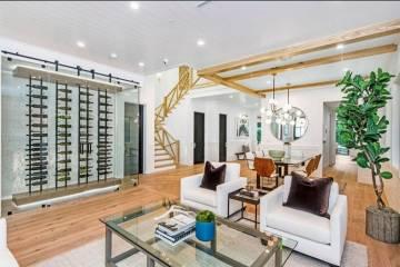 Open Floor Living Room