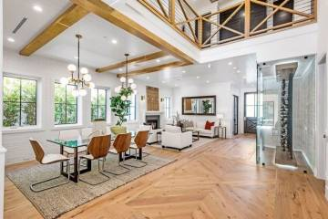 Open Floor Living and Dining Room - 1