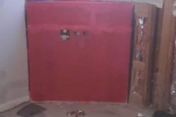 Bathroom Renovation Red Guard Application - 2