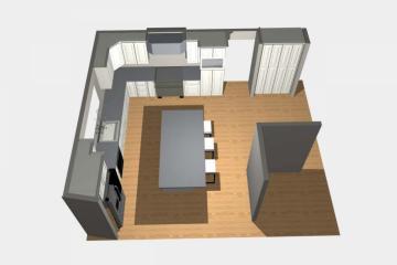 3D Kitchen Design - 5