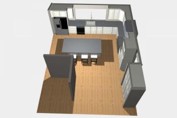 3D Kitchen Design - 4
