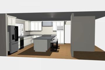 3D Kitchen Design - 3