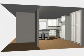 3D Kitchen Design - 2