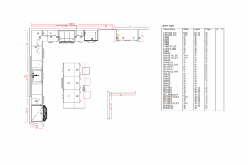 3D Kitchen Design - 1