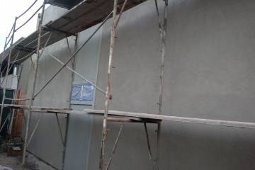 Stucco Installation - 1