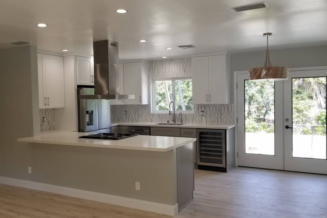 New Kitchen Cabinets, Counter-top, Appliances - 6